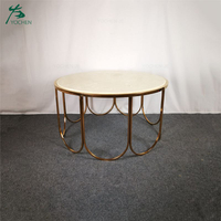 Solid surface table design wooden tea table coffee table
