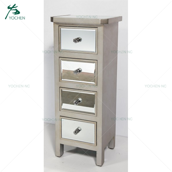 new model furniture living room mirror drawer mirrored furniture