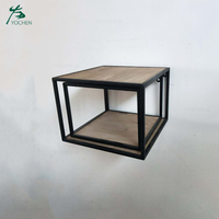 Decoration living room furniture wood floating wall shelf
