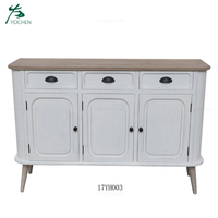 Royal home furniture sets wooden white living room cabinet