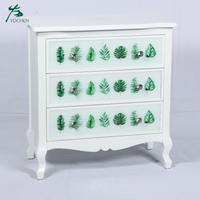 shabby chic wood living room furniture decorative white storage cabinet