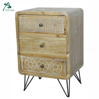 classic living room furniture small wood drawer cabinet storage