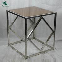 new design glass top modern design new center table