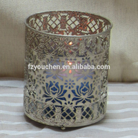 Handmade and Home Decoration Use metal candle holder for candle