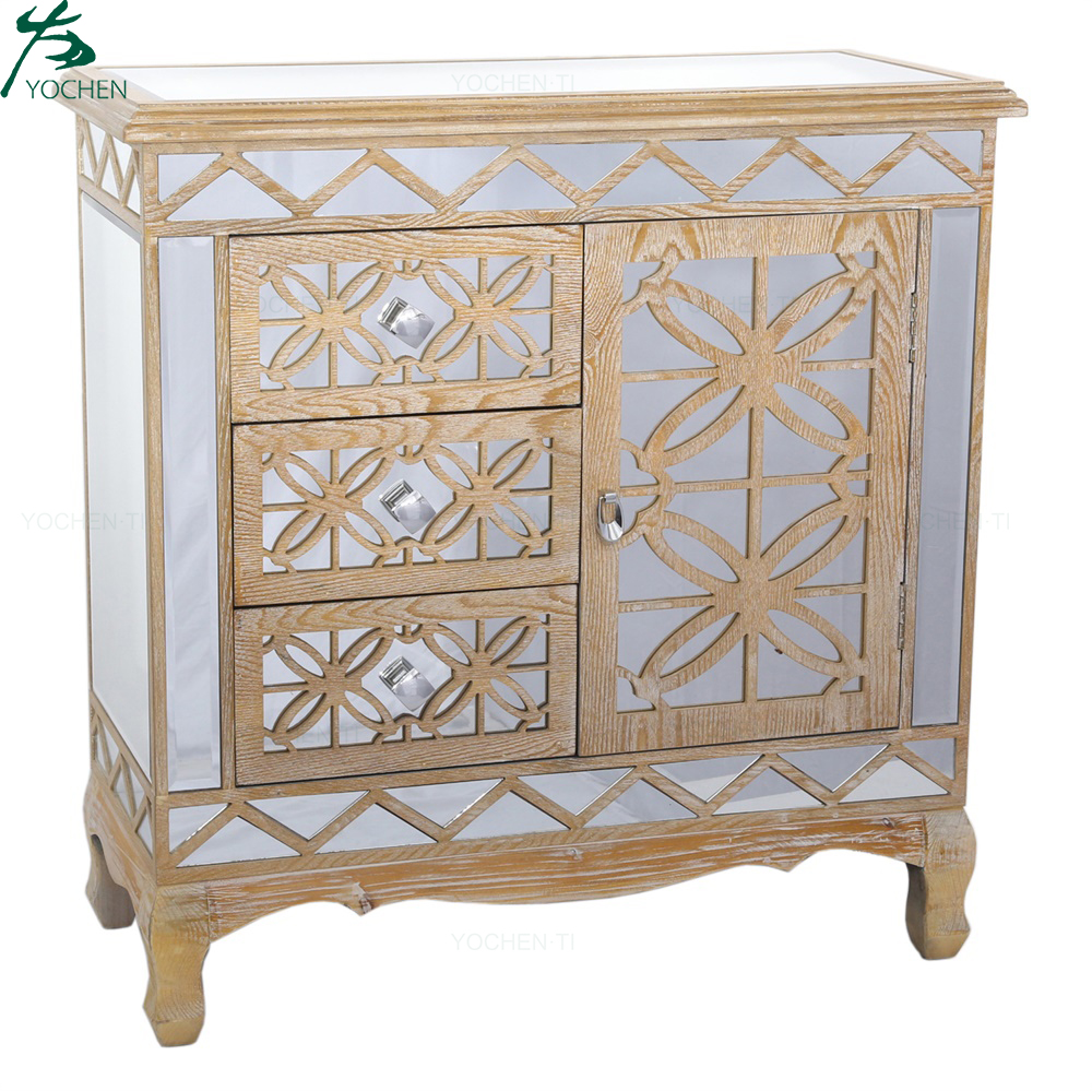 Hot Selling cheap price accent wooden cabinets and chests living room furniture