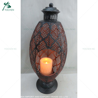 home decoration pieces geometric candle lantern holder