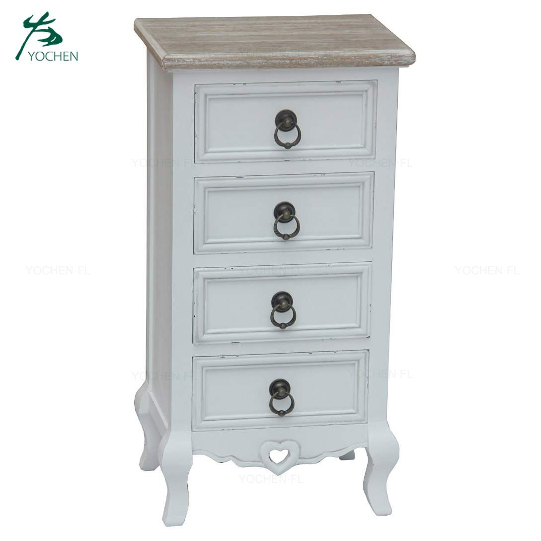 handmade natural white wooden storage cabinets