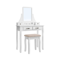 bedroom furniture white simple cosmetic dressing table furniture