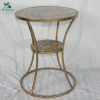 living room decorative metal table handmade vintage table