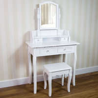 white 4 drawers dressing table designs with price images