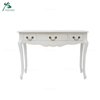 Living room furniture white painted console table entryway table