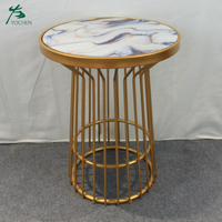 new design enamel style living room coffee table