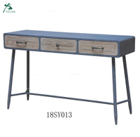 Living room antique style with pine legs wood grain finish tv console