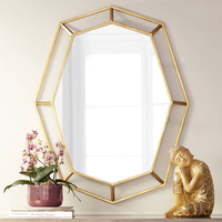 home furnishing gold wall mirror decorative