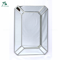 modern home decoration wall mirror live room metal frame wall mirror