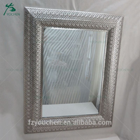 Factory wholesale wall mounted bath mirror for bathroom