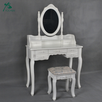 Dresser Furniture Vanity Cheap Dressing Table Wooden White Dresser