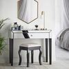 bedroom furniture mirrored furniture mirror bedside table
