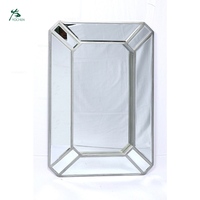 Rectangle Decorative Wall Mirror White