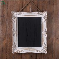 Bathroom mirror with frame wall mirror decorate make up solid wooden mirror for hotel