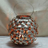 Factory Made To Order metal tea light cup candle holder or candelabra