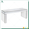 Professional hot sale Factory Price wood glass center console table