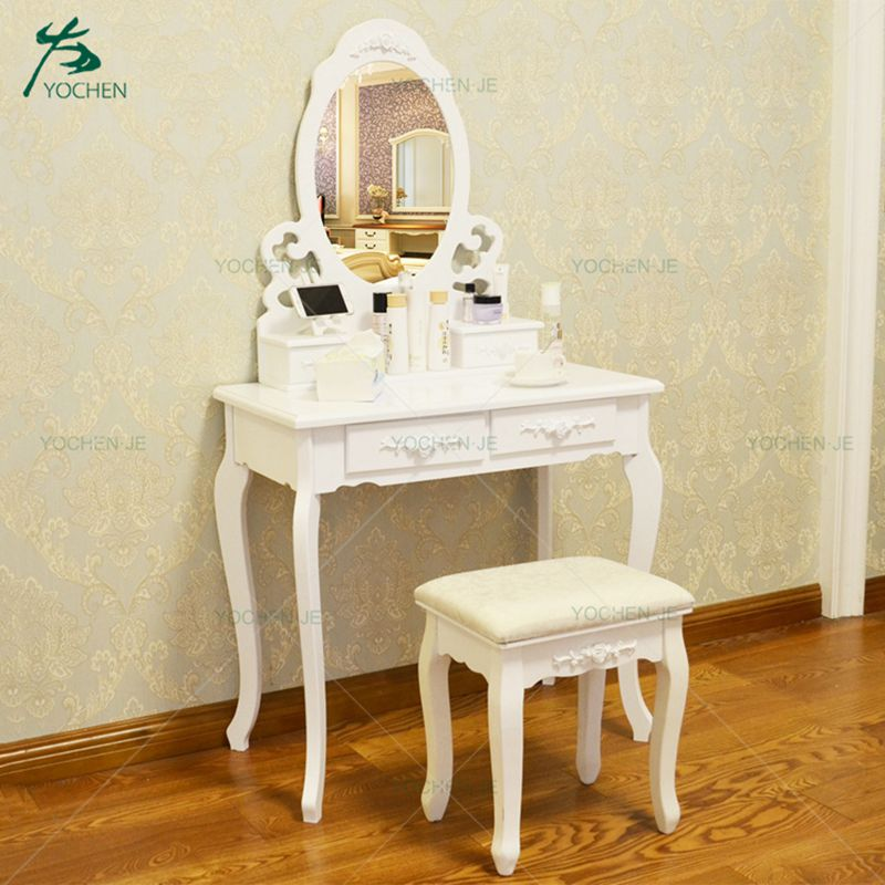 Bedroom furniture makeup corner dressing table with mirror