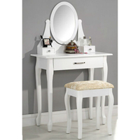 Factory wholesale bedroom furniture wood dressing table furniture