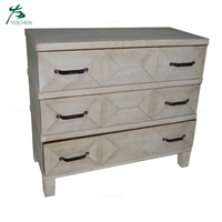 natural wood color living room drawer furniture storage cabinet