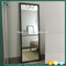 antique window style reclaimed wood frame wall mirror