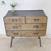 Factory wooden industrial chests of drawers