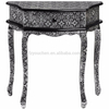 Marrakech Console Table with Wood Carved