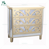 Living room mirror furniture ironing board storage cabinet mirror cabinet