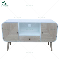Modern European Furniture Wooden Tv Stand