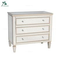 Luxury sideboard modern style wood storage cabinet