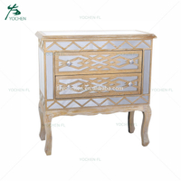 living room cabinet antique furniture corner mirror glass table