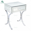 Chrome Shape Stainless Steel Antique Console Table