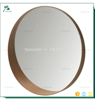 Round Metal Mirror Frame For Home Decor Custom Mirror