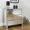 Venetian Antique Bedroom Mirrored Chest of Drawers