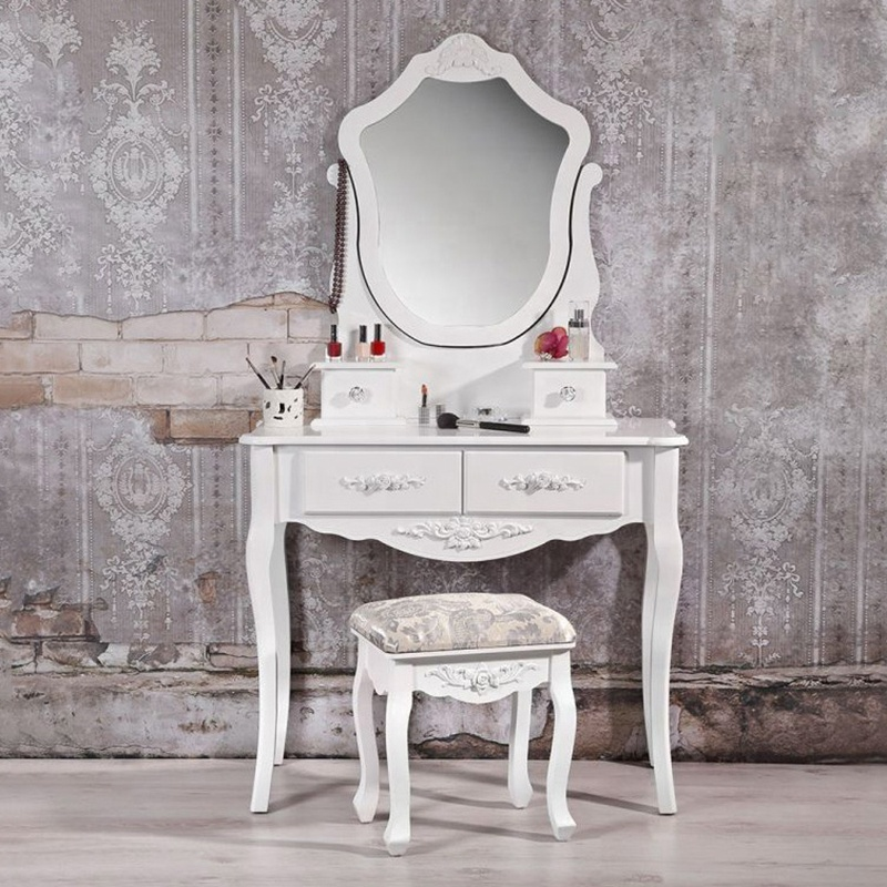 Wooden dresser bedroom furniture vanity dressing table