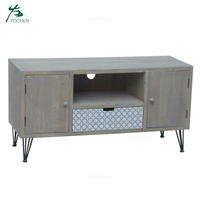 living room antique wood modern tv cabinet
