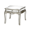 bedroom furniture crystal crush mirrored art deco furniture round coffee table