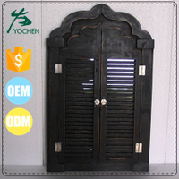 Vintage window mirror shutters window shutter mirror