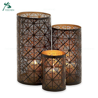 table dinner moroccan candle holder