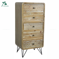 soft modern design living room furniture 5 cabinet drawer