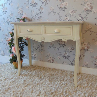 bedroom furniture white french vanity console table