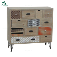 french style living room furniture solid wood chest of drawers