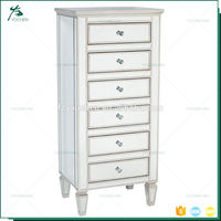 Italian Style 6 Storage Drawer Chest Of Drawers Solid Wood