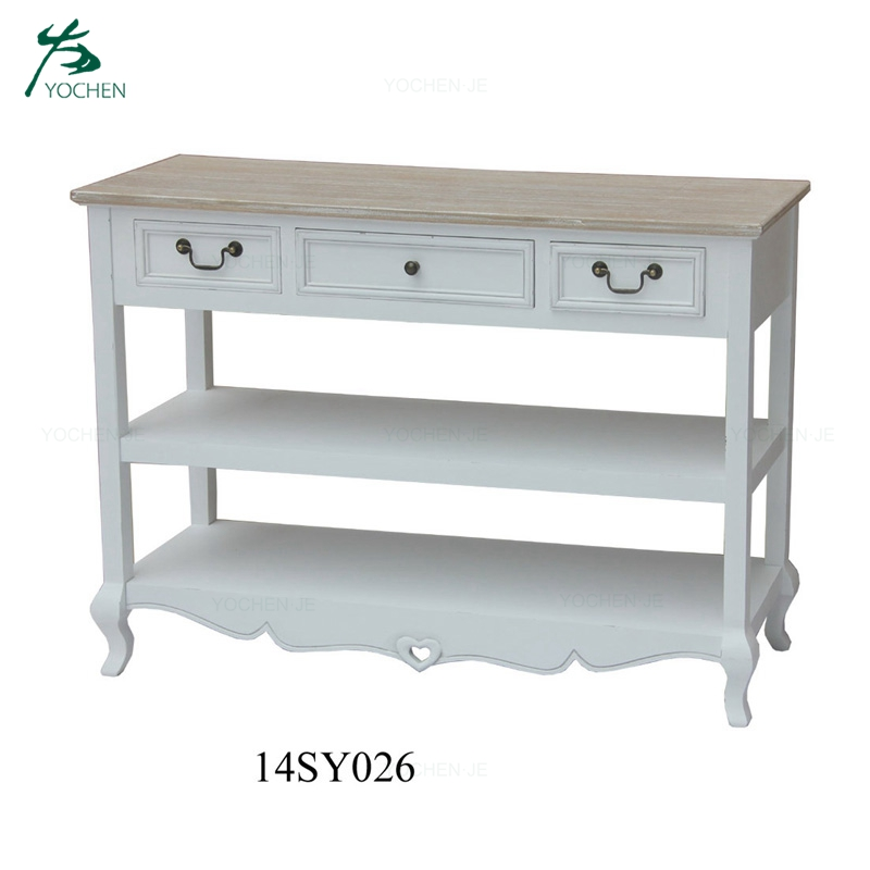 Entryway Home Modern White Hallway Console Table