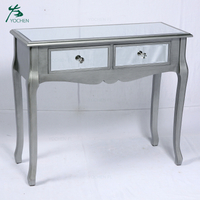 Living room furniture table modern mirror console table